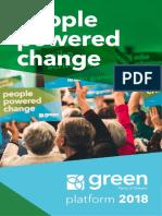 Ontario Green Party platform