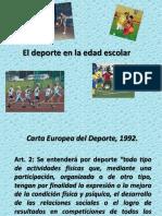 El Deporte en La Edad Escolar1