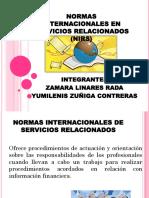 Normas Internacionales en Servicios Relacionados (Nirs)