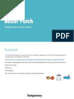 basal patch presentation