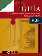 DE LAS JURISPRUDENCIAS PARA EL ABOGADO LITIGANTE.pdf