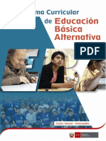 Programa Curricular Inicial Intermedio EBA