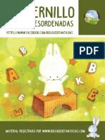 Cuadernillo de Sílabas Desordenadas