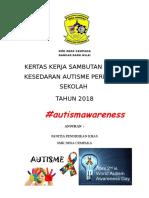 Kertas Kerja Majlis Sambutan Bulan Kesedaran Autisme