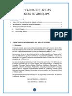 Fuentes y Calidad de Aguas Subterráneas en Arequipa 1