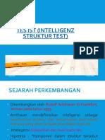 8. Tes IST (Intelligenz Struktur Test)