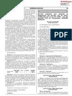 Nuevo Reglamento de La Ley Del Servicio Civil de Graduandos SECIGRA DERECHO 2018