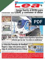 Periódico Lea Martes 15 de Mayo Del 2018