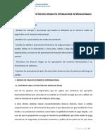 Financiación y Gestión Del Riesgo en Operaciones Internacionales