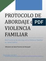 Protocolo Abordaje SSPP Violencia Familiar 2015