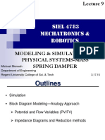 Lecture 9_ Simulation of Physical Systems _mass Spring Damper Modeling