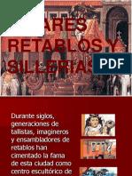 Altares Retablos y Sillerias