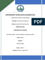 Proyecto - Dobladora de Laminas