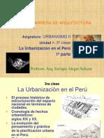 Urbanizacion en El Perù