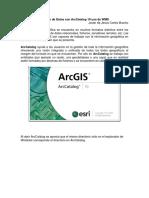 4.0.Gestión de Datos Con ArcCatalog 10 Uso de WMS