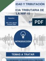 Contabilidad y Tributación Implicancia de La Niif 15