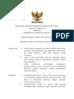 PMK No. 1 Th 2018 Ttg Pemeriksaan Kesehatan Pelaut