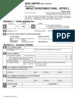 Application Form- Company
