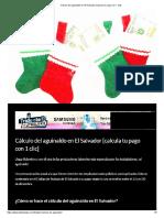Cálculo del aguinaldo en El Salvador [calcula tu pago con 1 clic].pdf