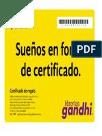 Certificado de Regalo 3