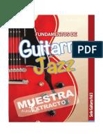 Muestra Fundamentos de Guitarra Jazz Serie Guitarra Vol3 E Book 1