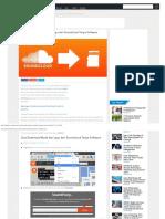 Cara Download Musik Dan Lagu Dari Soundcloud Tanpa Software