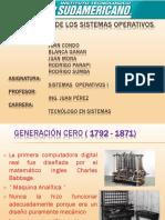 01 Generacion de Los Sitemas Operativos