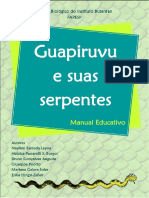 Guapiruvu e Suas Serpentes, Manual Educativo