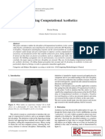 Defining Computational Aesthetics Hoenig