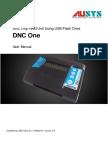 User Manual DNC One 2015