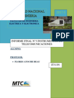 Informe Final 3 Tele