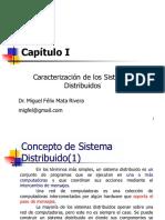Capítulo 1, Caracterización de los Sistemas Distribuidos 2017