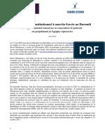Référendum constitutionnel à marche forcée au Burundi