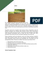 Pengolahan Tanah Pertanian