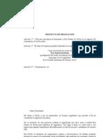 Resolución - placa  homenaje a Eva Duarte de Perón en el Cementerio de la Recoleta