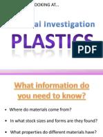 Year 7 Plastics