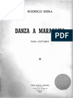 Danza a Maracaibo, Rodrigo Riera