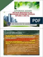Lap Akhir MP KEK Bitung 2000 Ha_11122017