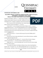 Quinnipiac 092210 NY GOV + BP