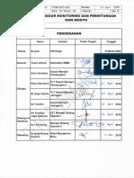 Psm - Ops - 004 (Psm 013) Monitoring Dan Perhitungan m m (Edisi 2)