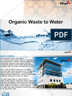 waste to water machine by Bhor - Sukhi Services