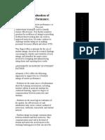 Student Evaluation of Teacher Performance