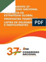 Livro Moções 37 Congresso BW
