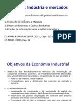 AULA 1 - Economia Industrial