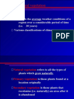 Geography Climate and Vegetation