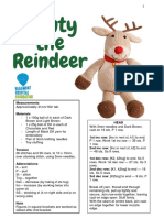 Monty the Reindeer
