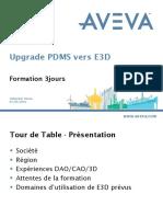 Upgrade E3D2.1- Manuel Stagiaires