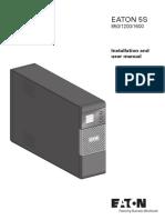 ANZ 5S 850-1600VA LCD User Manual