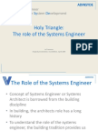 Appendix 1_Holy Triangle%3b the Role of the Systems Architect