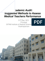 Academic Audit